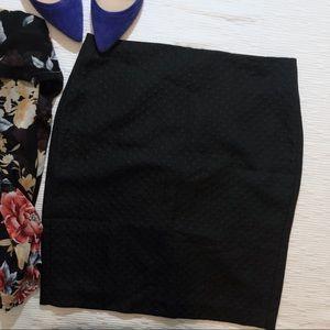 New Banana Republic black skirt